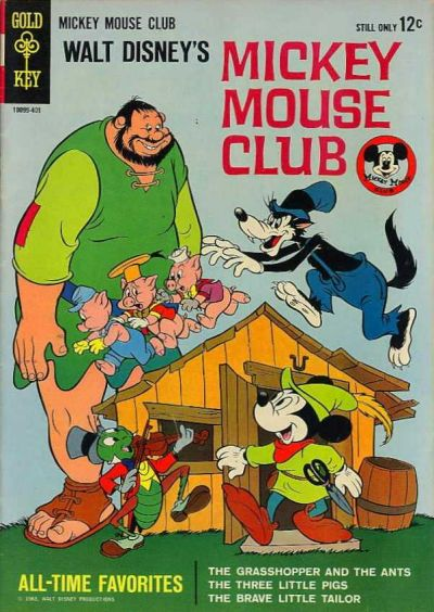 Cover for Walt Disney's Mickey Mouse Club (Western, 1964 series)