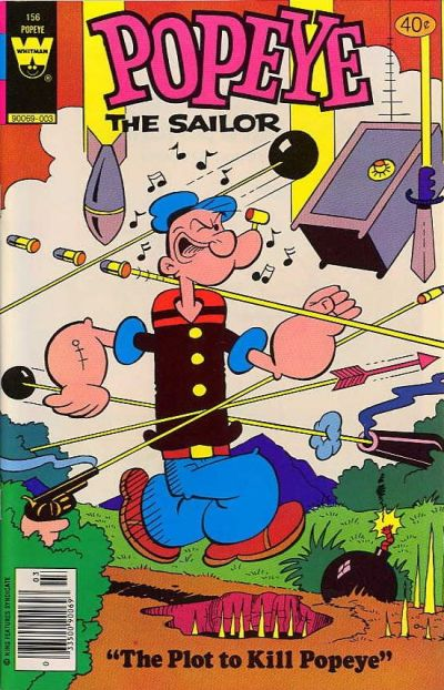 Cover for Popeye the Sailor (Western, 1978 series) #156