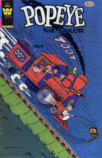 Cover for Popeye the Sailor (Western, 1978 series) #157