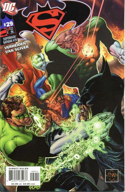 Cover for Superman / Batman (DC, 2003 series) #29