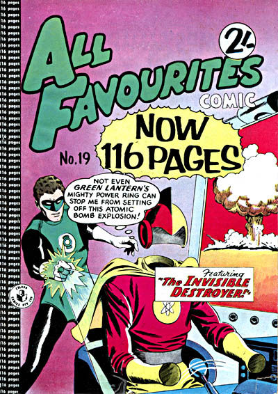 Cover for All Favourites Comic (K. G. Murray, 1960 series) #19