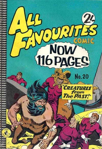Cover for All Favourites Comic (K. G. Murray, 1960 series) #20