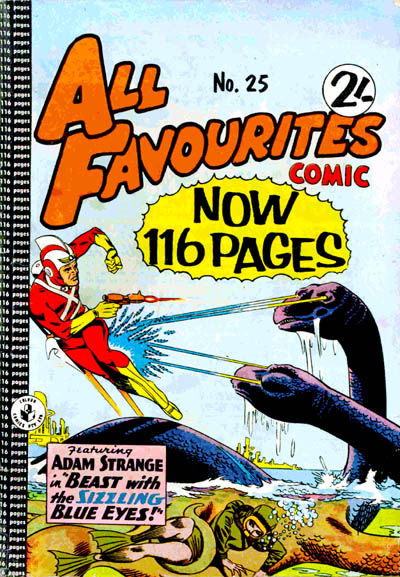 Cover for All Favourites Comic (K. G. Murray, 1960 series) #25