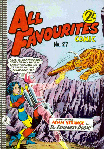 Cover for All Favourites Comic (K. G. Murray, 1960 series) #27