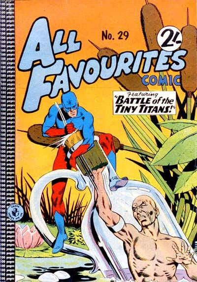 Cover for All Favourites Comic (K. G. Murray, 1960 series) #29