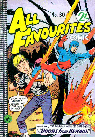 Cover for All Favourites Comic (K. G. Murray, 1960 series) #30