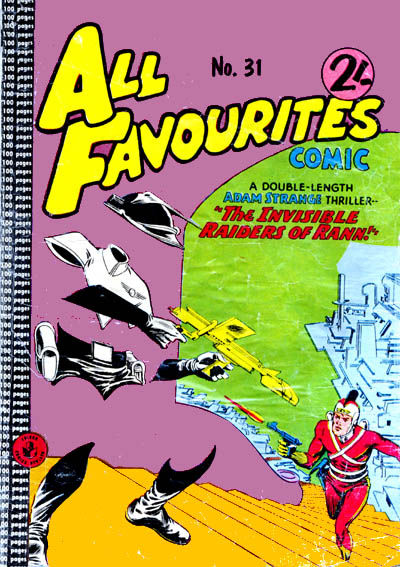 Cover for All Favourites Comic (K. G. Murray, 1960 series) #31