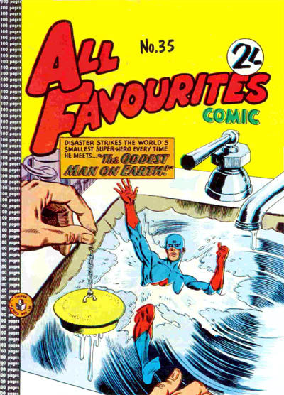 Cover for All Favourites Comic (K. G. Murray, 1960 series) #35