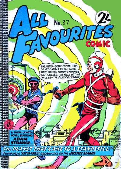 Cover for All Favourites Comic (K. G. Murray, 1960 series) #37