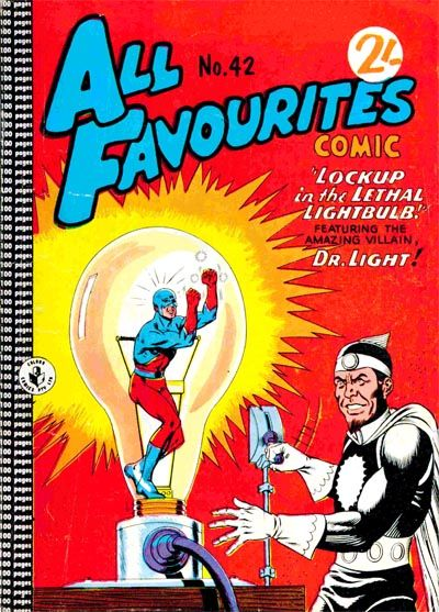 Cover for All Favourites Comic (K. G. Murray, 1960 series) #42
