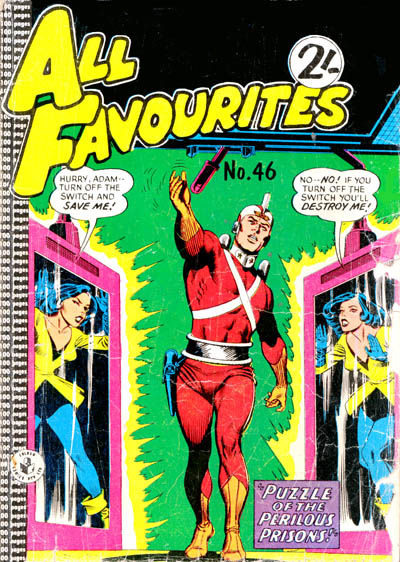 Cover for All Favourites Comic (K. G. Murray, 1960 series) #46