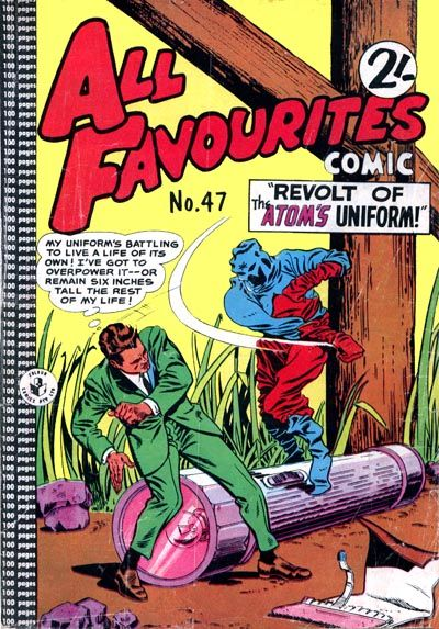Cover for All Favourites Comic (K. G. Murray, 1960 series) #47