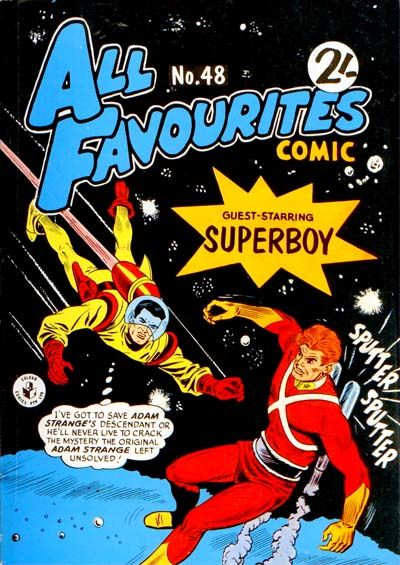 Cover for All Favourites Comic (K. G. Murray, 1960 series) #48