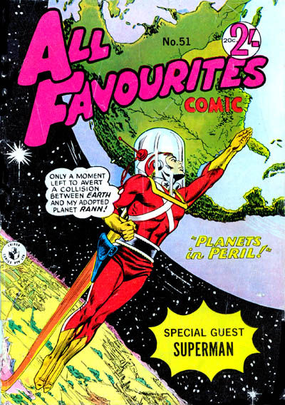 Cover for All Favourites Comic (K. G. Murray, 1960 series) #51