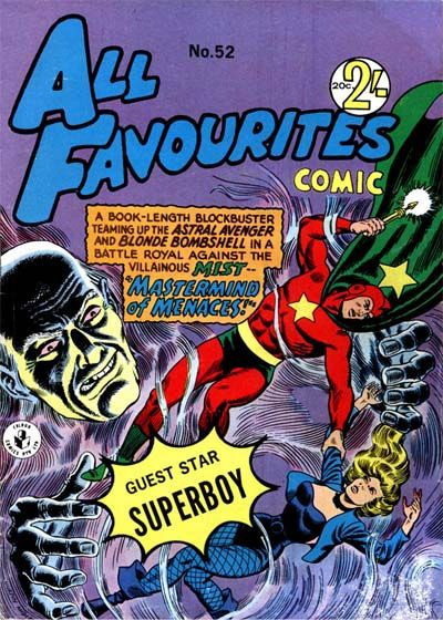 Cover for All Favourites Comic (K. G. Murray, 1960 series) #52