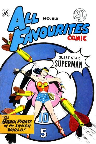 Cover for All Favourites Comic (K. G. Murray, 1960 series) #53