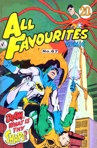 Cover for All Favourites Comic (K. G. Murray, 1960 series) #67