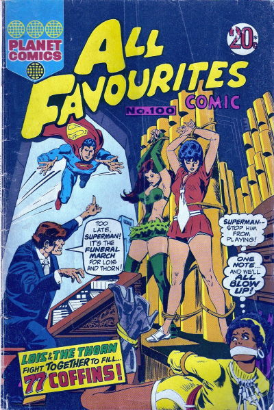 Cover for All Favourites Comic (K. G. Murray, 1960 series) #100