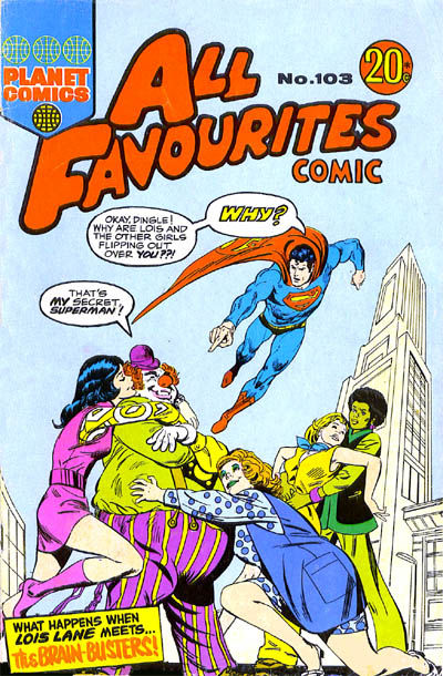 Cover for All Favourites Comic (K. G. Murray, 1960 series) #103