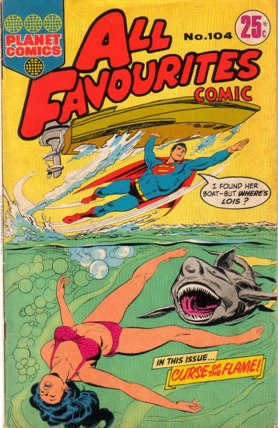 Cover for All Favourites Comic (K. G. Murray, 1960 series) #104