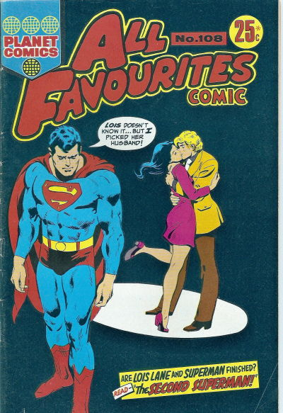 Cover for All Favourites Comic (K. G. Murray, 1960 series) #108