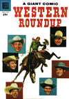 Cover for Western Roundup (Dell, 1952 series) #18