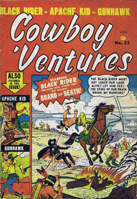 Cover Thumbnail for Cowboy 'Ventures (Bell Features, 1951 series) #35