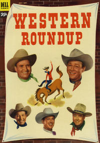 Cover Thumbnail for Western Roundup (Dell, 1952 series) #3