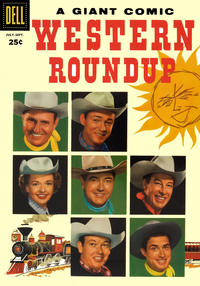 Cover for Western Roundup (Dell, 1952 series) #15