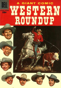Cover Thumbnail for Western Roundup (Dell, 1952 series) #16