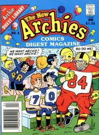 Cover Thumbnail for The New Archies Comics Digest Magazine (Archie, 1988 series) #4 [Newsstand]