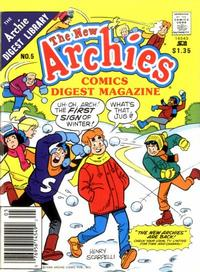Cover Thumbnail for The New Archies Comics Digest Magazine (Archie, 1988 series) #5