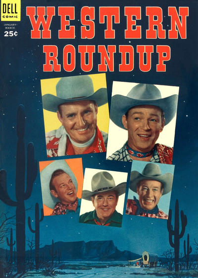 Cover for Western Roundup (Dell, 1952 series) #5