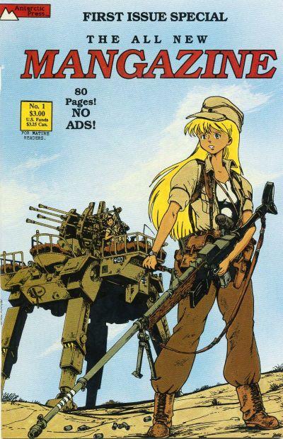 Cover for Mangazine (Antarctic Press, 1989 series) #1