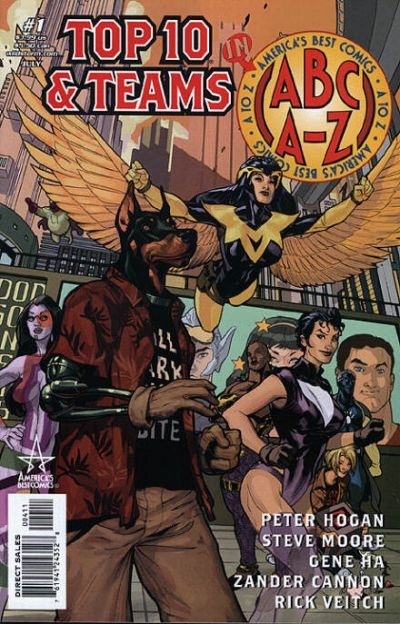 Cover for ABC: A-Z, Top 10 and Teams (DC, 2006 series) #1
