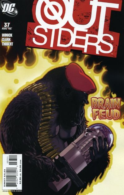 Cover for Outsiders (DC, 2003 series) #37