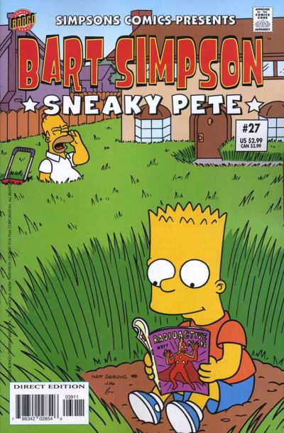 Cover for Simpsons Comics Presents Bart Simpson (Bongo, 2000 series) #27