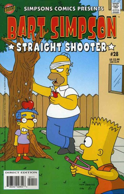 Cover for Simpsons Comics Presents Bart Simpson (Bongo, 2000 series) #28