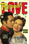 Cover for Personal Love (Eastern Color, 1950 series) #25