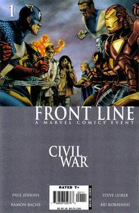 Cover Thumbnail for Civil War: Front Line (Marvel, 2006 series) #1 [Direct Edition]