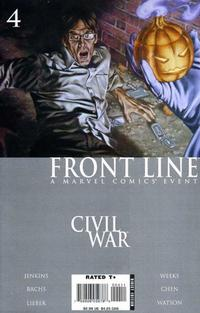 Cover Thumbnail for Civil War: Front Line (Marvel, 2006 series) #4