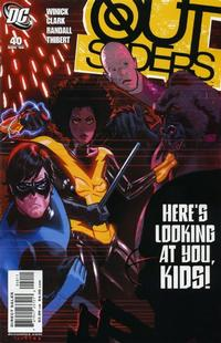 Cover for Outsiders (DC, 2003 series) #40