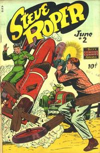 Cover Thumbnail for Steve Roper (Eastern Color, 1948 series) #2