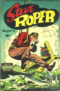 Cover Thumbnail for Steve Roper (Eastern Color, 1948 series) #3