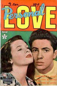 Cover Thumbnail for Personal Love (Eastern Color, 1950 series) #1