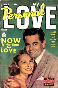 Cover Thumbnail for Personal Love (Eastern Color, 1950 series) #3