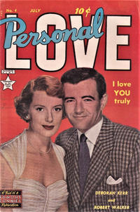 Cover Thumbnail for Personal Love (Eastern Color, 1950 series) #4