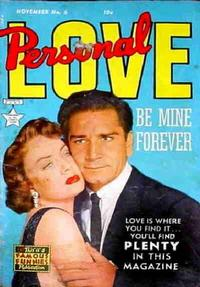Cover Thumbnail for Personal Love (Eastern Color, 1950 series) #6