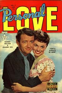 Cover Thumbnail for Personal Love (Eastern Color, 1950 series) #7
