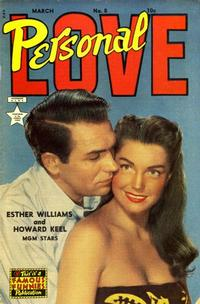 Cover Thumbnail for Personal Love (Eastern Color, 1950 series) #8